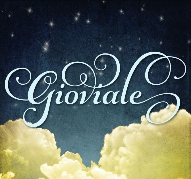 Gorgeous Gioviale Script Font (1,000 glyphs) - only $15!