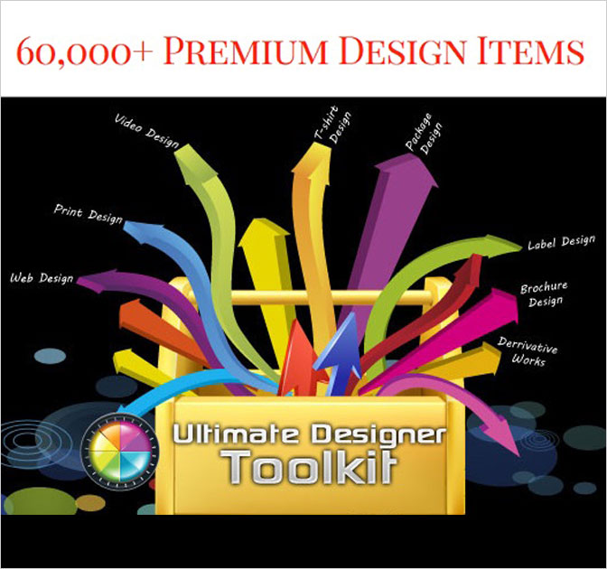 The Ultimate Designer Toolkit: Over 60,000 Designer Items - only $27!