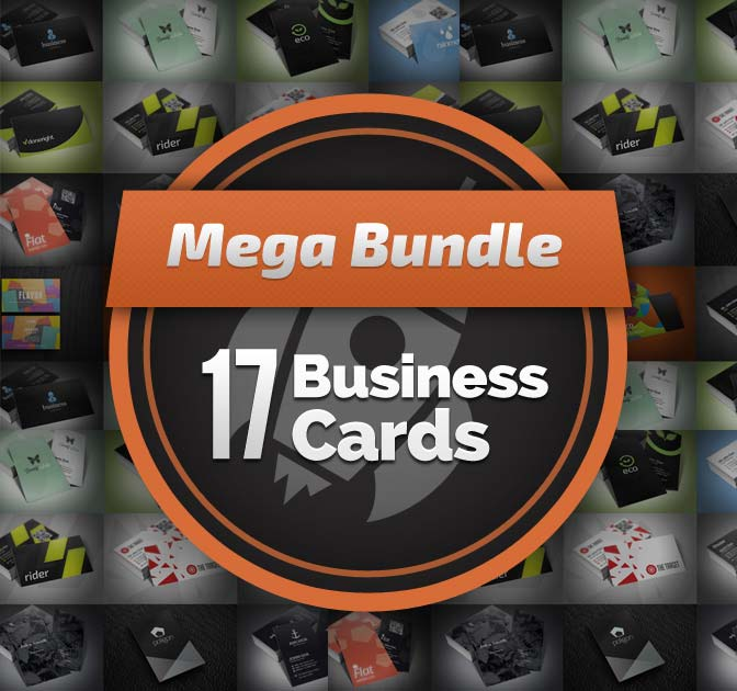 17 Professional Business Card Templates - only $9!