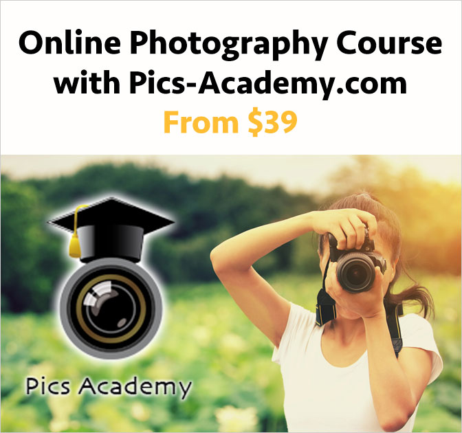Online Course – Master your photography skills for only $39!