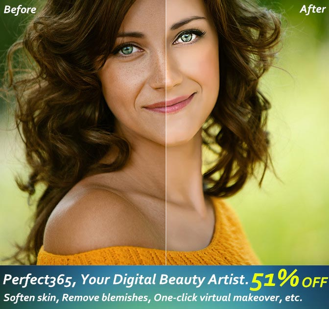 Create Virtual Makeovers with Perfect365 - only $24!