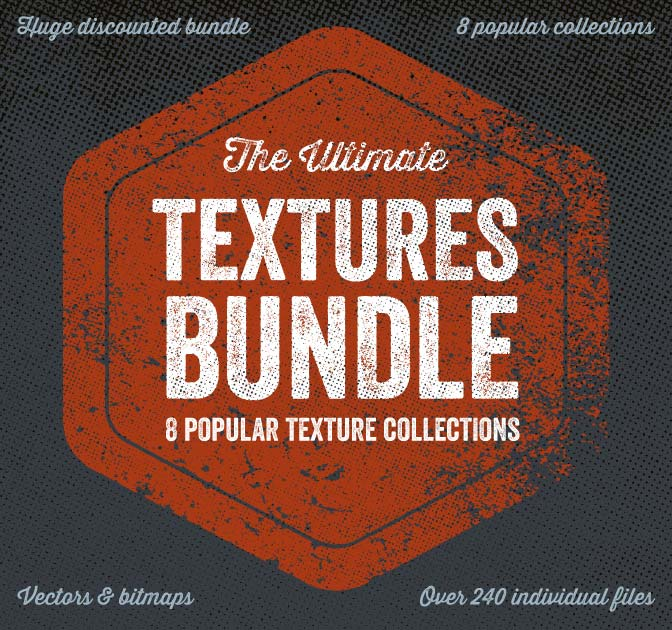 8 Popular Texture Collections from Offset - 240+ Files - only $17!