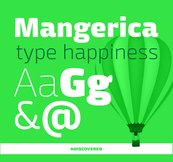 Mangerica Regular Font Family with 9 Styles - only $27!