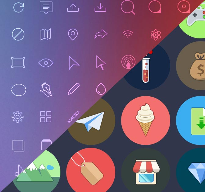 Iconmania! 600+ Quality Icons from Pixlsby.Me - only $9!