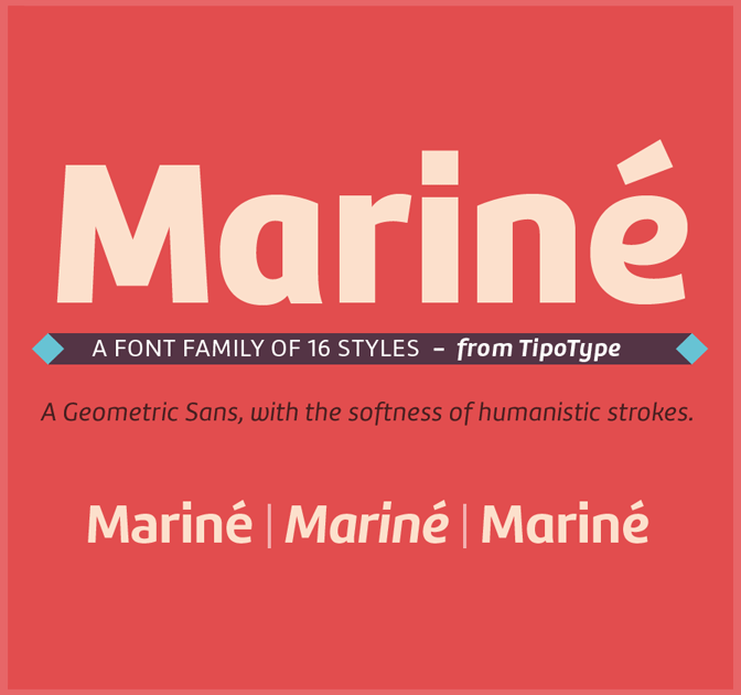 Mariné Extended Font Family (16 styles) - only $24!