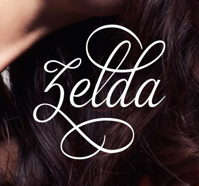 Zelda Font: A Beautiful and Classy Script Font