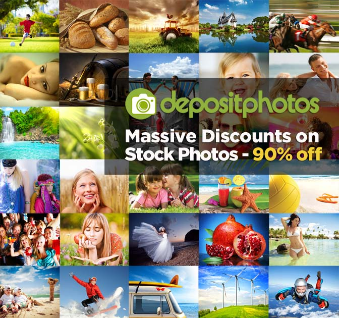 Massive Discounts on Stock Photos <br />- up to 92% off!