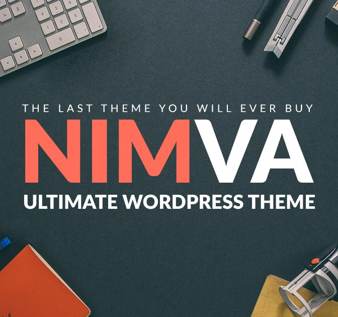 Nimva - Ultimate Multi Purpose WordPress Theme - only $27!