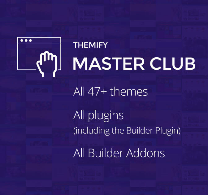 Full Themify Master Club: 47+ WordPress Themes, Plugins & Addons
