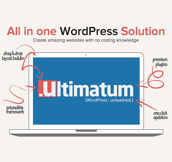 Ultimatum 2.7: The Ultimate WordPress Theme Builder - from $35!