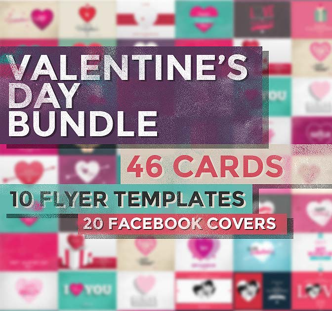 The Valentine Bundle: 75+ Lovely Graphics - only $16!
