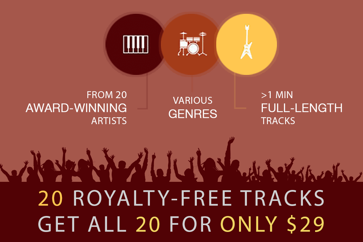 20 Royalty-Free Inspirational Music Tracks - only $29 ...